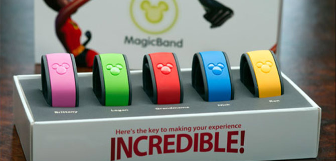 box of MagicBands