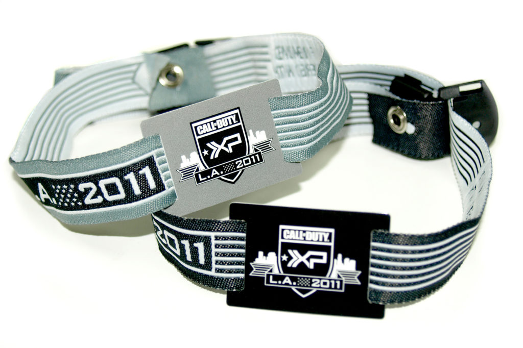 Call of Duty RFID wristbands