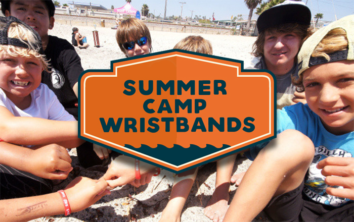 Summer Camp Wristbands: Child safety ideas