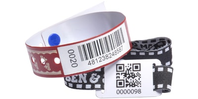 Barcoded Wristbands