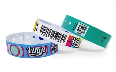 Bar Code Wristbands