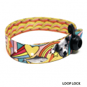 Printed Satin Fabric Wristband