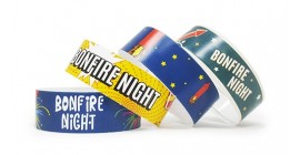 Bonfire Full Colour Wristbands