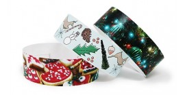 Christmas Full Colour Wristbands