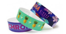 Full Colour Paper Wristband