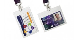 Lanyard Pouches for Business Cards