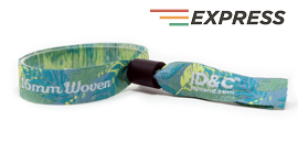 Express Fabric Wristband