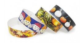 Harvest Festival Full Colour Wristbands