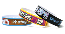 Full Colour L Shape Wristband
