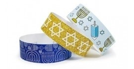 Hanukkah Chroma Wristbands