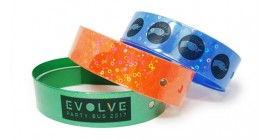 One Colour L Shape Wristband