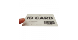 Antibacterial Overlay Pack for ID Cards