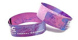 Poly Thermal Wristbands