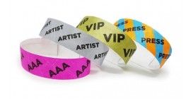 Event Admission Tyvek Wristbands