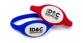 RFID Pop Out Silicone Wristband