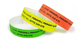 School ID Wristbands