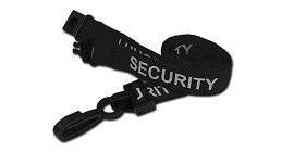 Pre-Printed Security Lanyards
