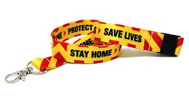 Stay Home & Protect the NHS Lanyards
