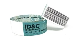 Full Colour Synthetic Wristband - RFID Enabled