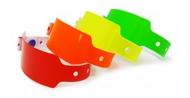 Plain Wide Face Wristbands