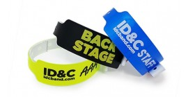 One Colour Wide Face Wristband