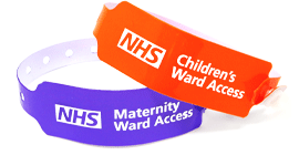 Hospital Ward Entry Wristband