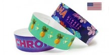 Full Color Paper Wristbands