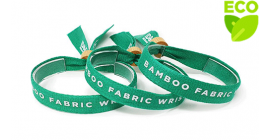 Bamboo Cloth Wristband - Bamboo Lock