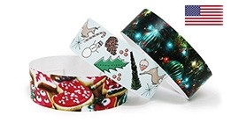 Christmas Full Color Wristbands