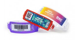 Full Color Wide Face Wristband
