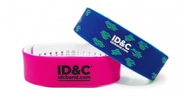 RFID Two-toned Silicone Wristband
