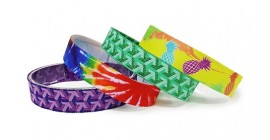 Stock Fabric Wristbands