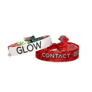 Full Color Custom Cloth Wristbands