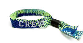 Fabric Wristband - Barrel Lock