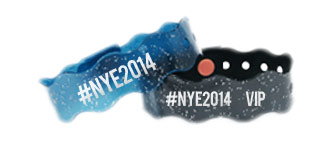 New Years wristbands
