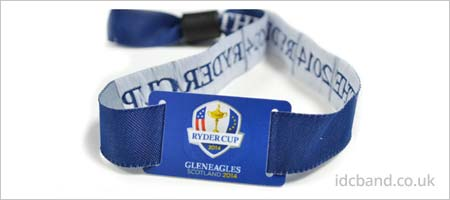 Ryder Cup RFID wristband