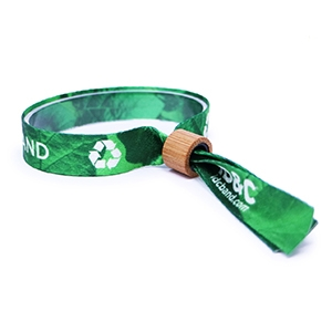 Recycled Fabric Wristbands