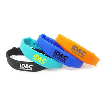 Silicone wristbands RFID