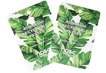Recyclable Eco Passes