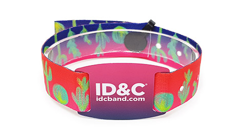 Cloth wristbands with RFID Smartcard