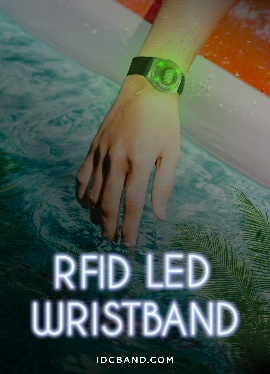 LED RFID wristbands