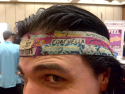 The Festival Guy - Wristbands Headband