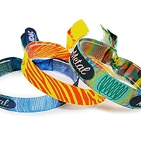 All Fabric Wristbands