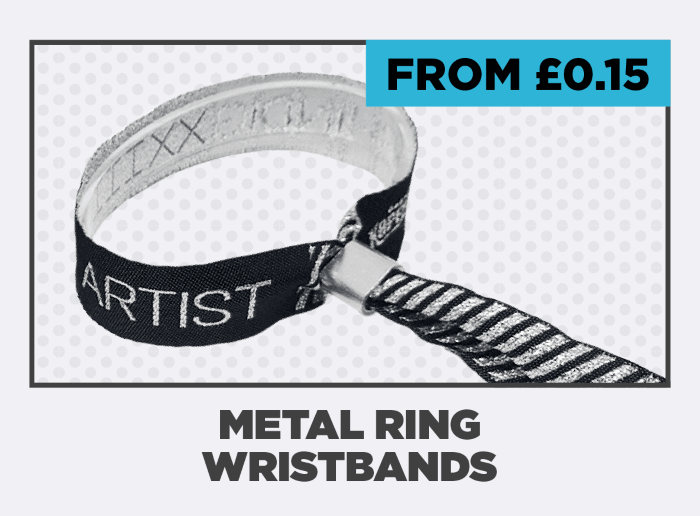 Metal Ring Wristbands