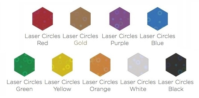 Laser Circles Colours