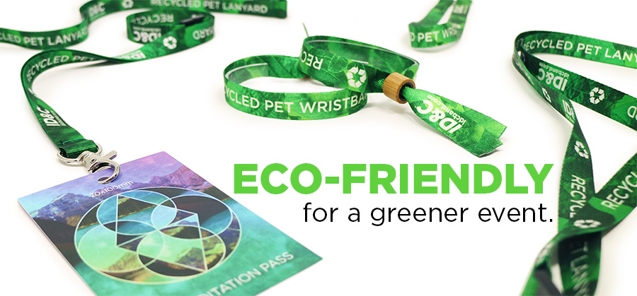 ID&C launches eco-friendly wristbands made out of recycled plastic water bottles!