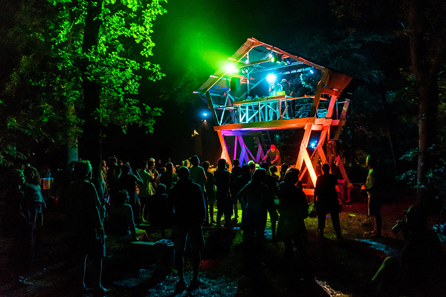 Timber Festival at Night 2018
